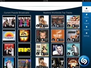 Shazam supera los 300 millones de usuarios y se rediseña para tablets