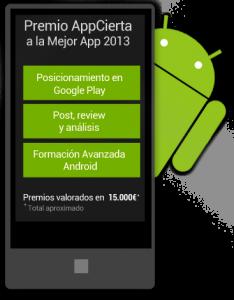 AppCierta, el primer concurso de aplicaciones para Android