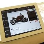 Ducati te permite personalizar sus motos al instante con una app para iPad