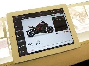 ducati app iPad