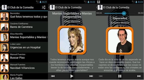 el club de la comedia app