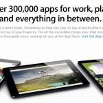 Apple presume de apps para iPad en sus nuevos anuncios