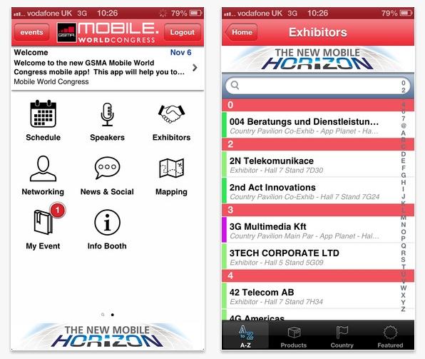 Organiza tu visita al Mobile World Congress con su app oficial