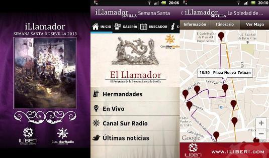 Sigue las procesiones de Semana Santa en tu móvil a través de estas apps
