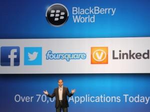 BlackBerry 10 solo cuenta con un tercio de las apps más populares para Android e iOS