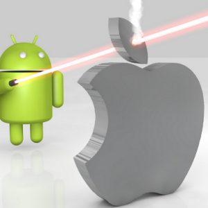 Los ingresos de las apps Android superarán a los de las aplicaciones iOS este año