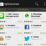 Line supera a WhatsApp en el top de apps gratuitas de Google Play