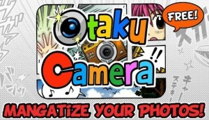 Convierte a tus amigos en personajes manga con Otaku Camera