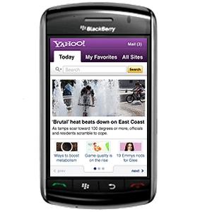 Yahoo! no dará más soporte a su app para BlackBerry