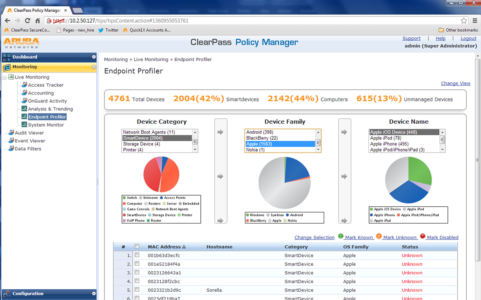 ClearPass, otro modo de gestionar el acceso de móviles iOS y Android a la red de una empresa