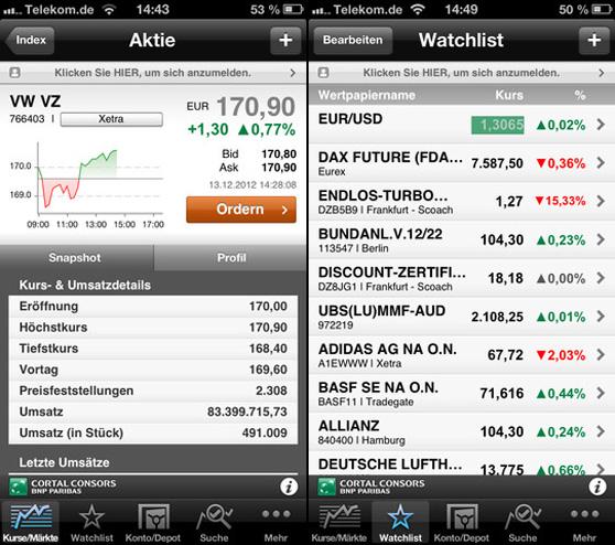 BNP Paribas pone a disposición de los inversores una aplicación para iOS y Android
