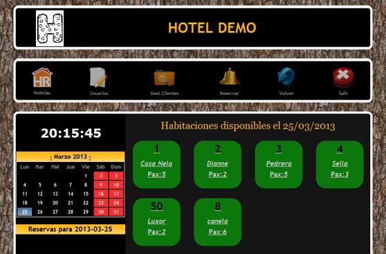 GesHR, una aplicación en la nube para gestionar casas rurales y pequeños hoteles