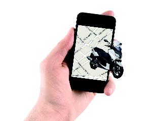 Esta app te avisa si intentan robarte la moto y te socorre en caso de accidente