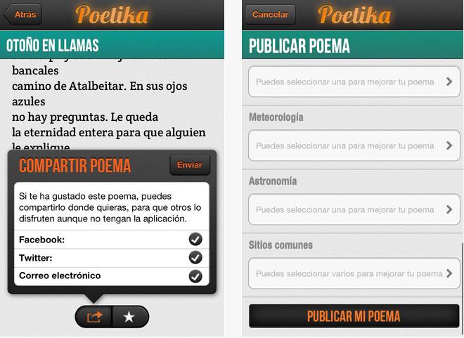 Poesía adaptada a tu estado de ánimo de la mano de la app Poetika