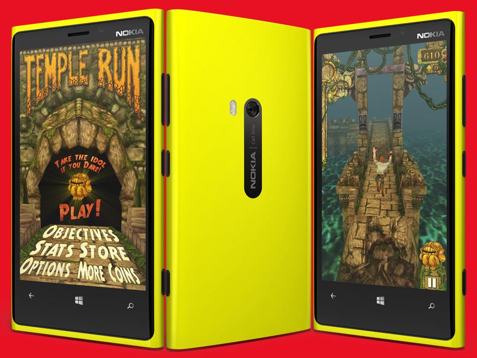 Temple Run llega a Windows Phone