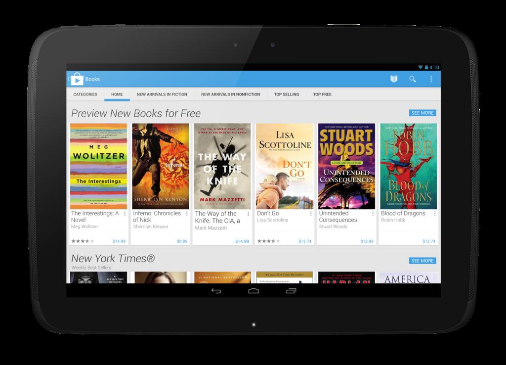 Google presenta el nuevo diseño de Google Play y retira 60.000 aplicaciones de su tienda