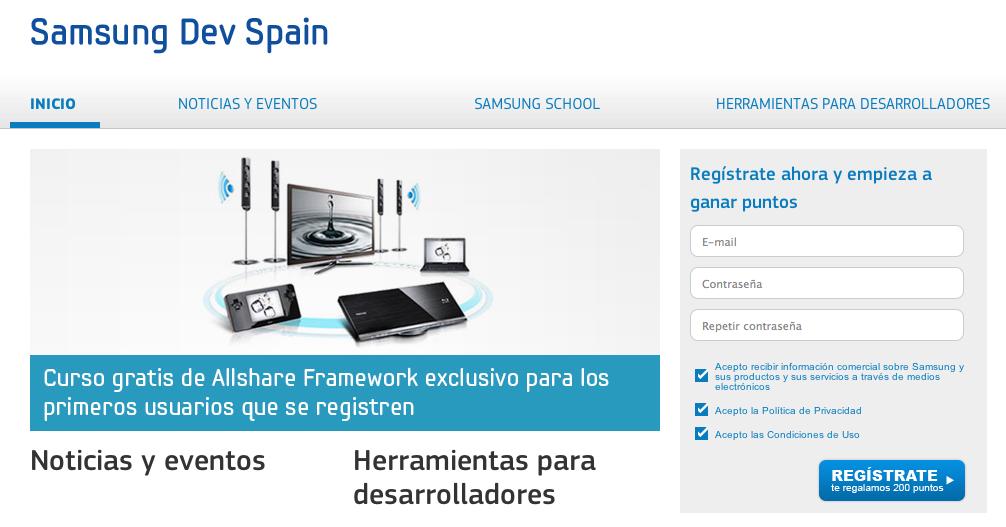 Samsung impulsa un programa de apoyo para desarrolladores de apps en España