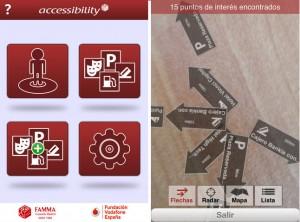 Accesibility, una aplicación con más de 20.000 puntos totalmente accesibles en España