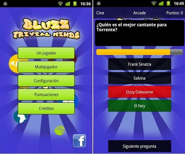 Bluzz Trivial Minds, un juego al más puro estilo Trivial Pursuit para Android