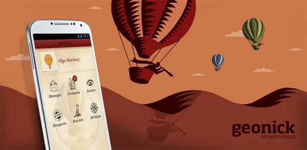 Ya es posible compartir nuestros hobbies en Geonick desde Android