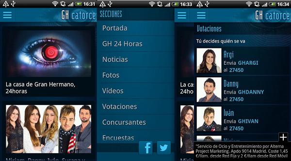gh 14 app oficial pantallazos