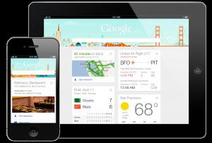 Google Now ya está disponible para iPhone e iPad