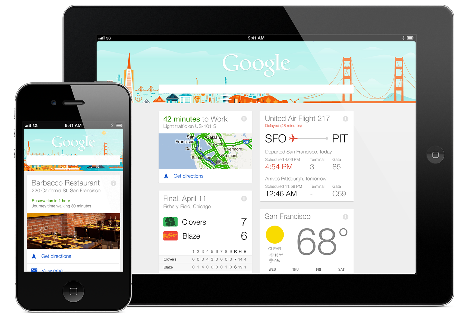 Google Now ya está disponible para iPhone e iPad