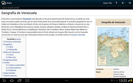 Kiwix, una aplicación para descargarte toda la Wikipedia en tu teléfono Android