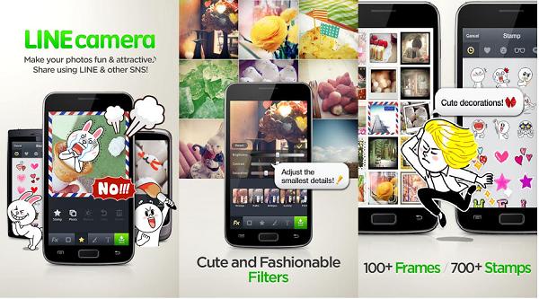 line camera app pantallazos