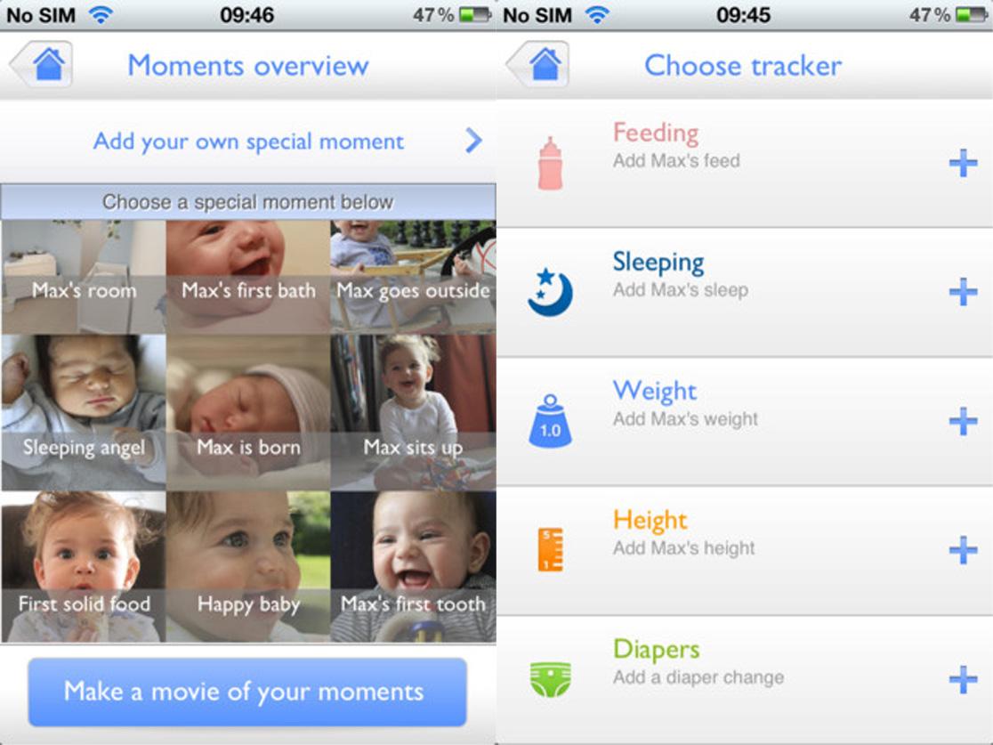 My Baby & Me, un regalo para padres primerizos en forma de app
