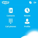 La mensajería instantánea de Skype aterriza en Blackberry 10