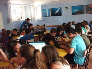 Un campamento de verano para que los jóvenes creen sus propias apps