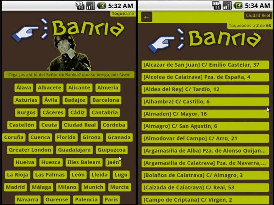El 9 de mayo, dale un Toque a Bankia también desde el móvil