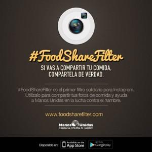 #FoodShareFilter, un filtro de Manos Unidas para Instagram que ayuda a compartir de verdad