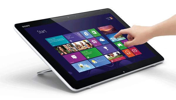 Sony lanza Vaio Tap 20, un ordenador-tableta con sistema operativo Windows 8