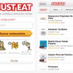 Hoy no cocines. JustEat lanza su app para iPhone