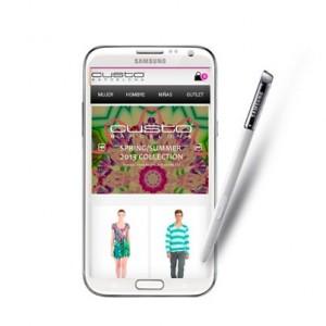 Custo Barcelona estrena su app en los smartphones y Smart TVs de Samsung