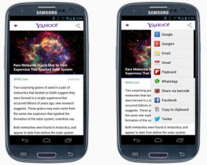 Yahoo! lanza su nueva app de Android, con la tecnología de Summly a cuestas