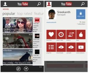 Google exige a Microsoft que retire su app de YouTube de Windows Phone