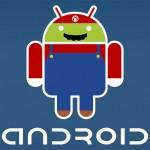El robot de Android, caracterizado como los personajes de los mejores videojuegos de siempre