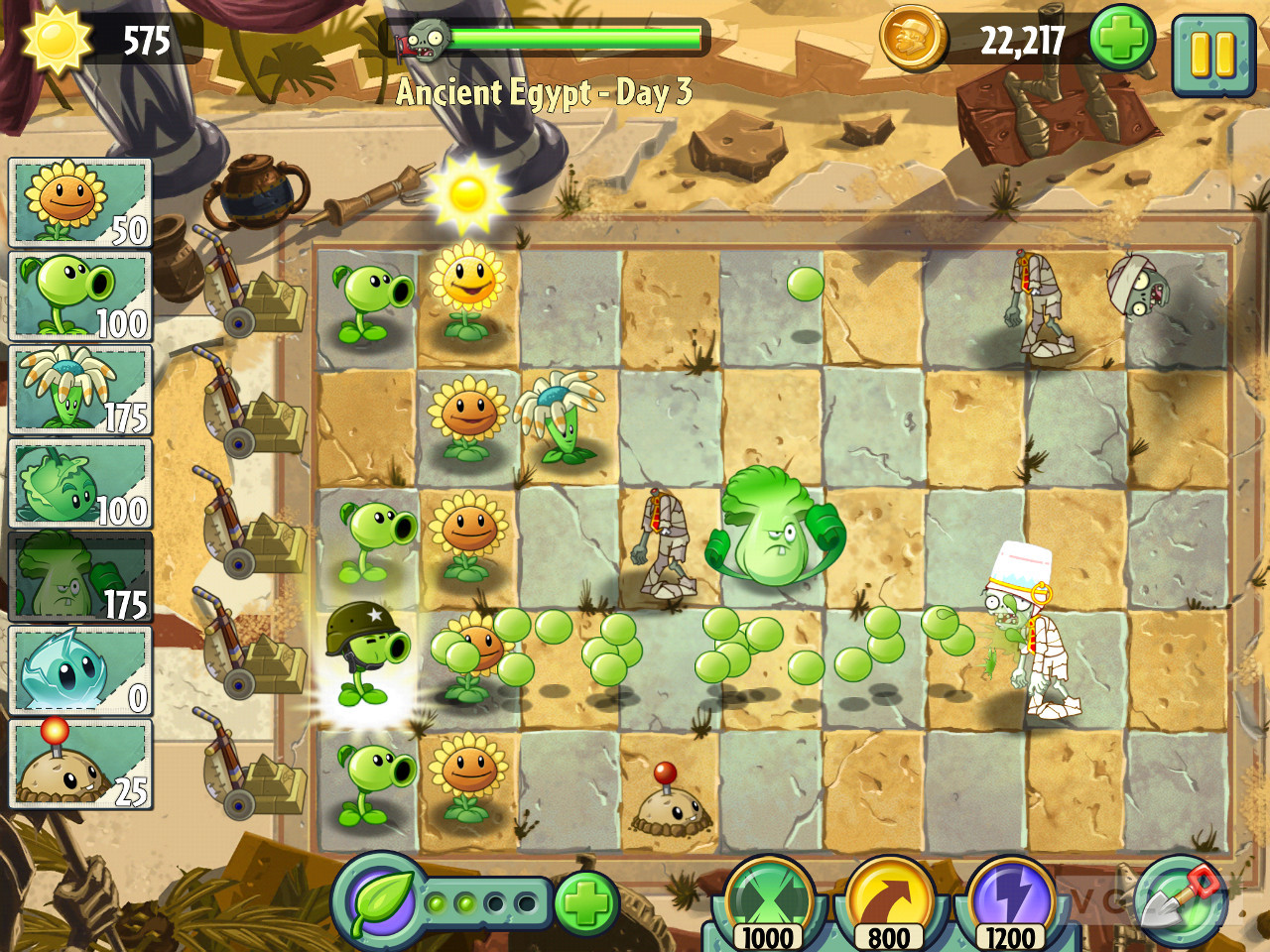 plants vs zombies 2 it s about time ya se habia anticipado hacia unas
