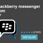Un BlackBerry Messenger falso se deja ver en Google Play