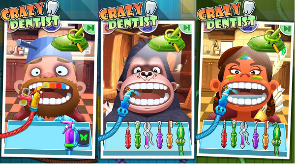 crazy dentist screenshot