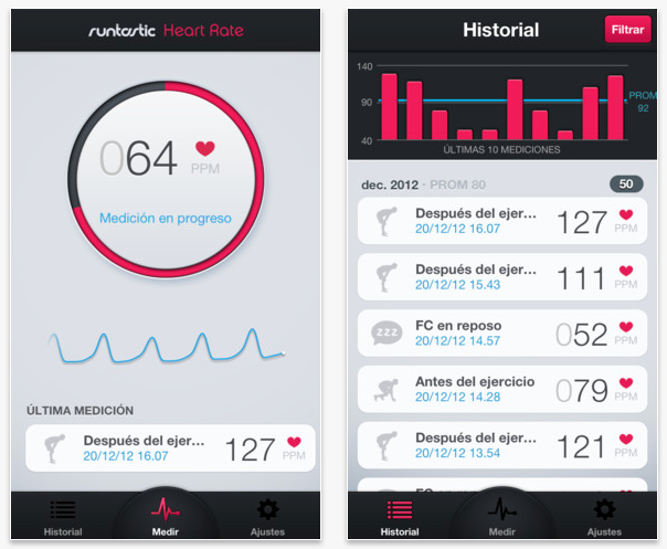 Runtastic Heart Rate