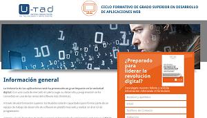 ciclo formativo aplicaciones web u-tad
