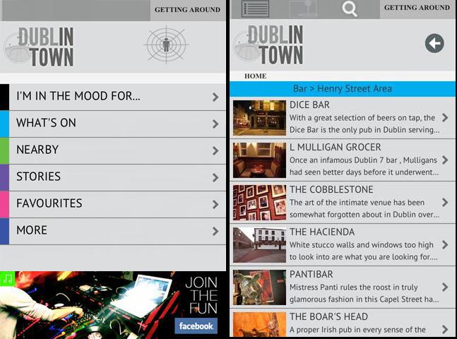 dublinTown_app