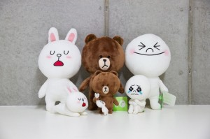 line-peluches