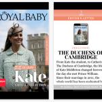 El bebé de Guillermo y Kate tiene su propia app… antes de nacer