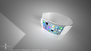 iWatch 'concept' de Apple con iOS 7
