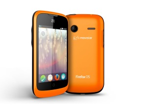 ZTE Open Firefox Os bright orange
